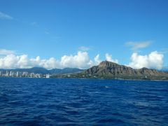 Waikiki und Diamond Head